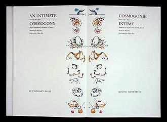 An Intimate Cosmogony Cosmogonie Intime