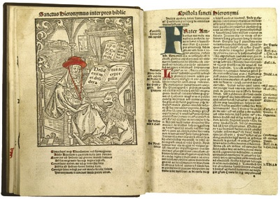 Albrecht Dürer woodcut in Biblia integra
