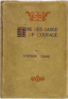 Pre-1900 dust wrapper - The Red Badge of Courage