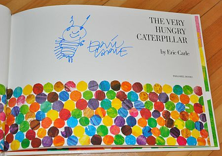 signed by Eric Carle
