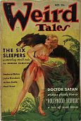 Weird Tales pulp fiction