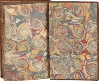 endpapers - swirl