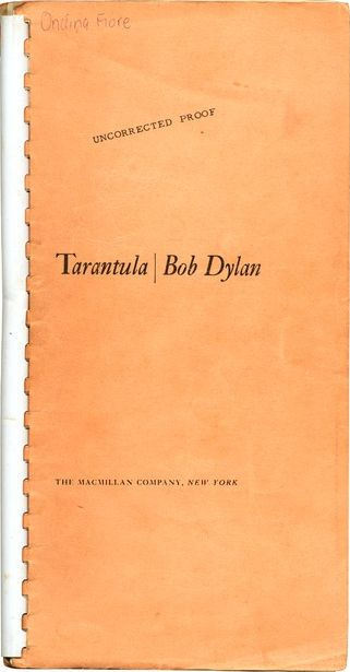 Tarantula uncorrected proof