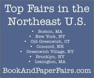 BookAndPaperFairs.com. Top Fairs in the Northeast U.S.